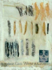 Abby DuBow Mixed Media Encaustic, collage