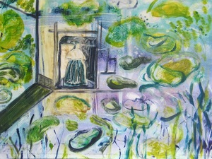 Abby DuBow Paris: de Hooch meets Monet Monotype