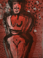 Abby DuBow Monotypes:Figurative Monotype