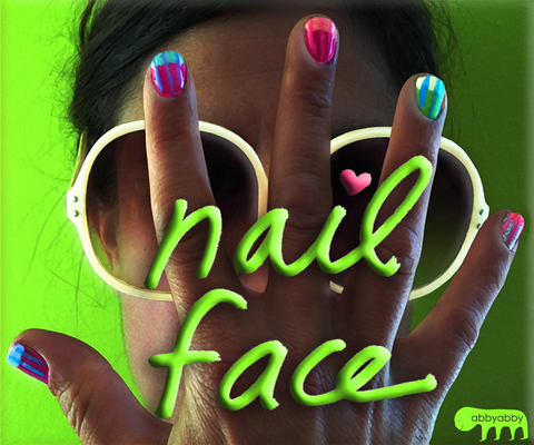 NailFace online marketing material