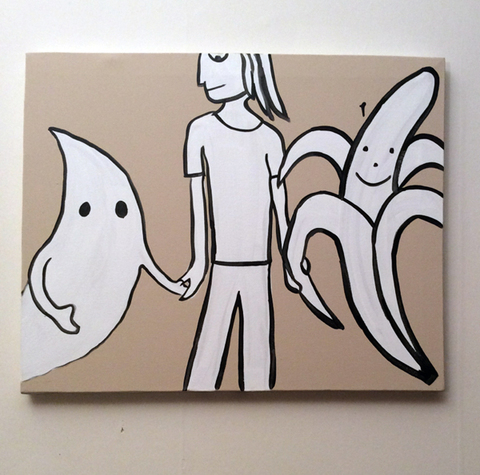 Ghost Banana Hands