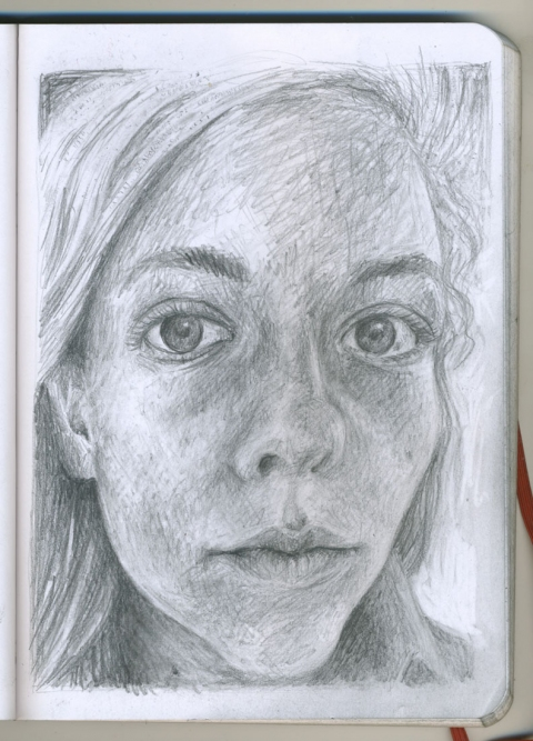Pencil Portraits bonnie
