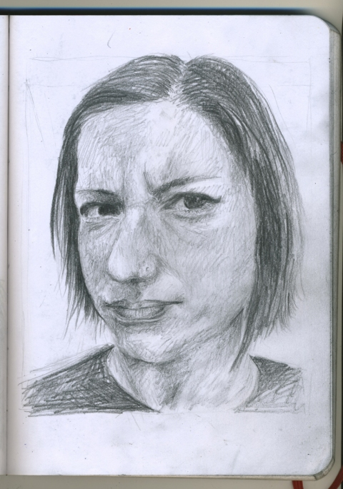 Pencil Portraits rebekah