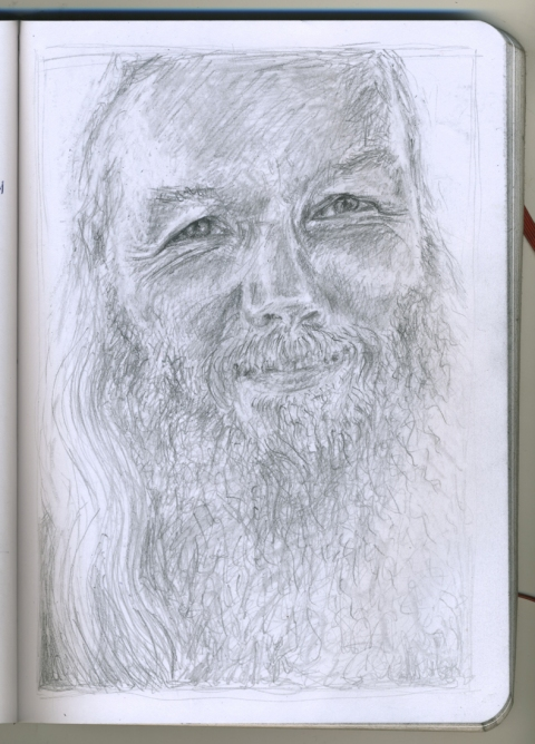 Pencil Portraits russ