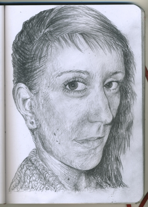 Pencil Portraits angie