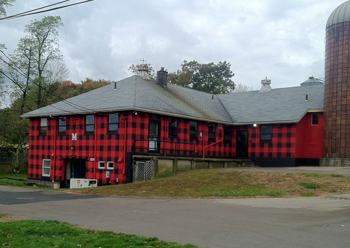Murals, fabrics, repeating designs Red and Black Plaid: AbbyAbby for CABOT