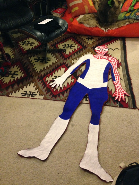 Less than exciting Adventures with Flat Spidermans  Less than exciting Adventures with Flat Spidermans