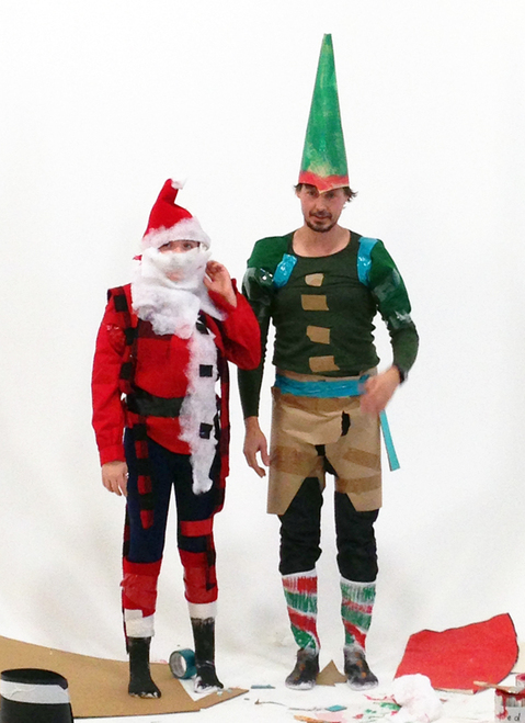 What Ever It Takes Santa and Elf