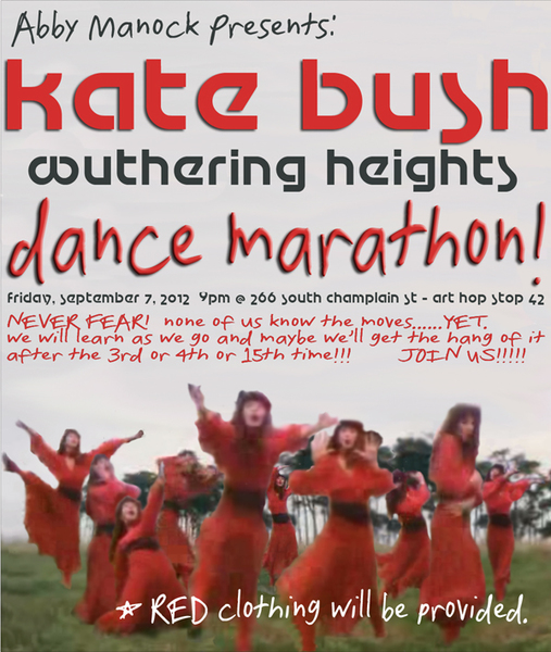 Kate Bush Wuthering Heights Dance Marathon I, II, III  Kate Bush Wuthering Heights Dance Marathon I, II, III