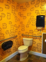 Cups Mural