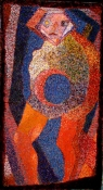 Abhijit Goswami Painting 2010 Oil, Acrylic, Tempera on gessoed Cotton