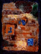 Abhijit Goswami Painting 2010 Mixed Media on gessoed Cotton