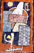 Abhijit Goswami Painting 2007 Mixed Media on Canvas
