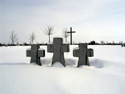Photography 2005-6 German graves, Russia