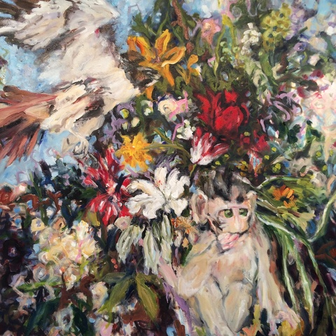Adrienne Beth Jenkins 3   Made of this Earth oil on canvas