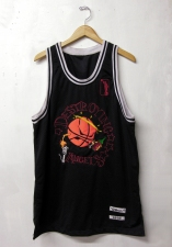 Adam Taye Jerseys Embroidery on garment, hanger.