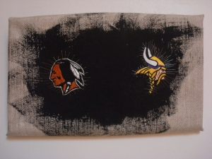 Adam Taye Embroidery! Embroidery on Canvas