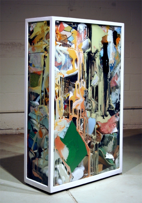 Adam Welch Art - Selected Works Pile (old) Mixed media, glass, steel