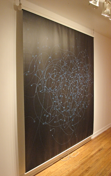 Adam Welch Selected 2D Acrylic on projection screen, steel