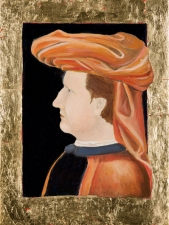 "Adrienne Momi ""I Gioelli"" gallery Tempera grassa on board"