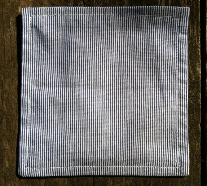 COASTERS  Thin Navy Stripes Coasters