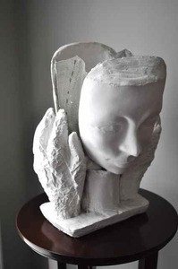 Afsaneh Djabbari-Aslani Portraits Plaster and wire