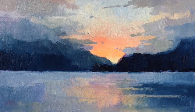 Featured/Recent Paintings Sunrise