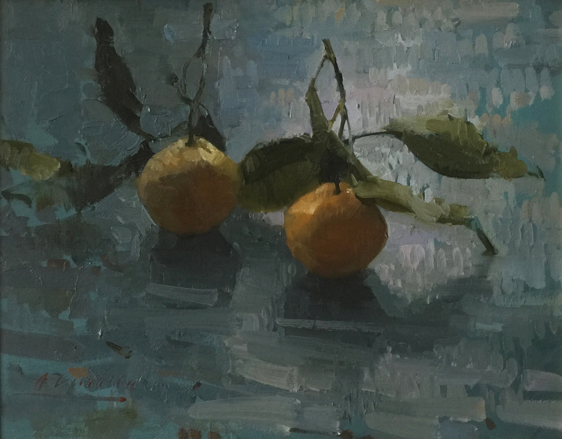 Still Life/Interiors Two Mandarins