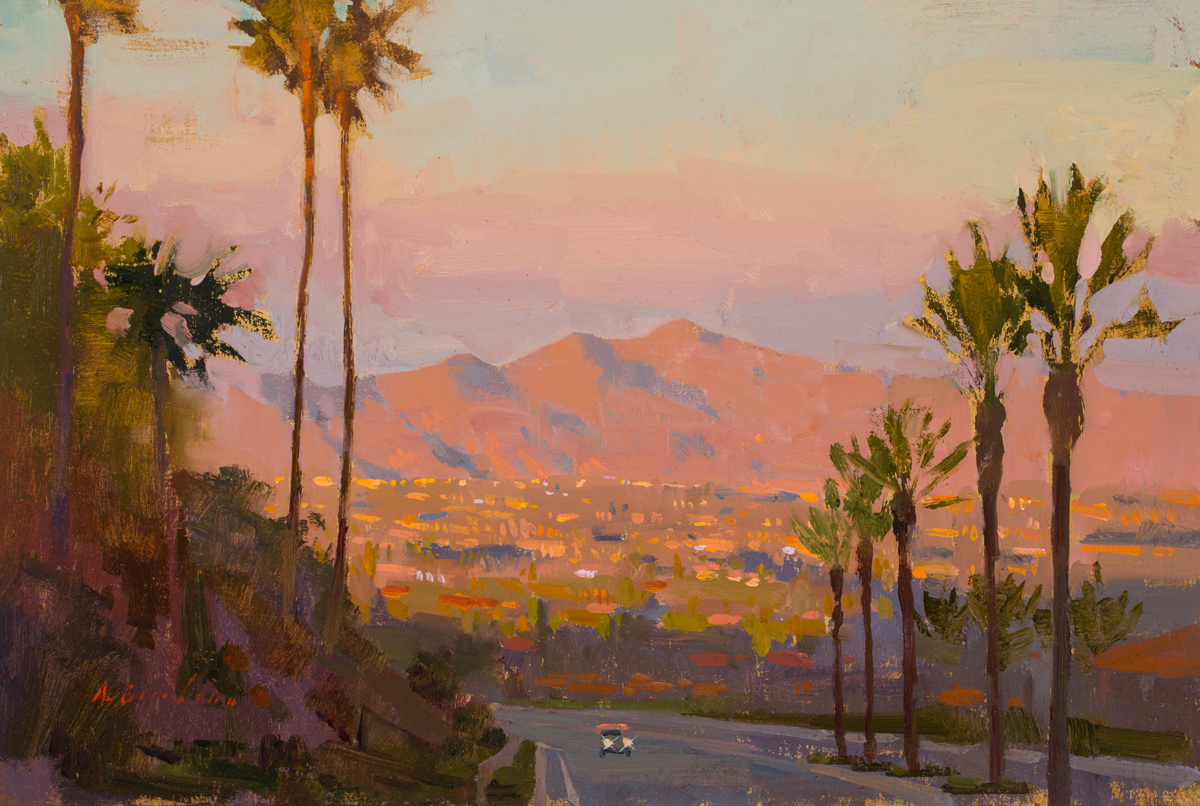Featured/Recent Paintings Into the Valley