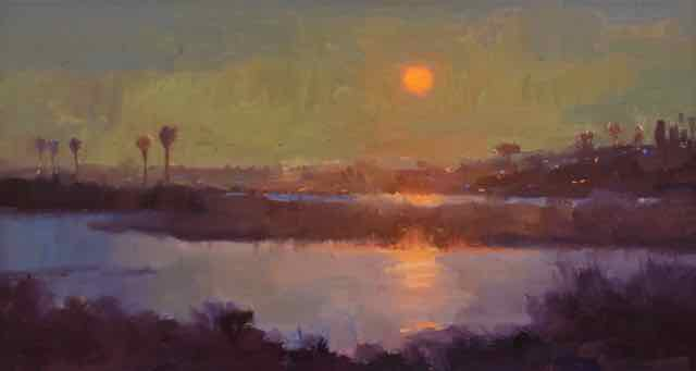 Available Paintings Sunset
