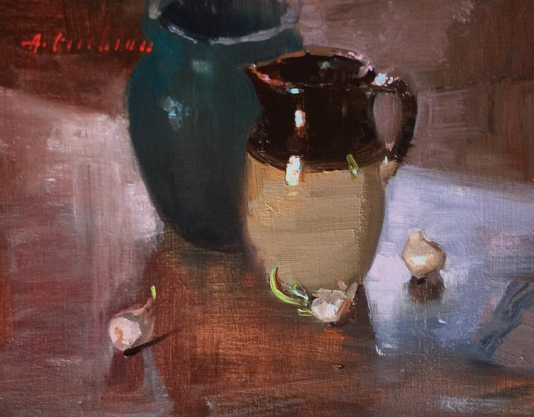 Available/Recent Paintings Pitcher