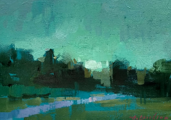 Featured/Recent Paintings Petite Evening