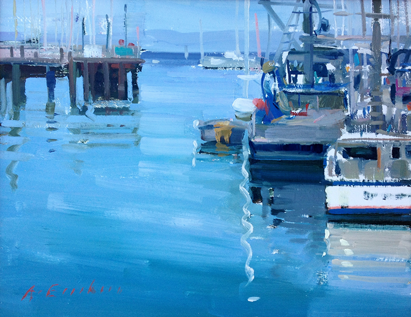 Landscapes Monterey--Harbor