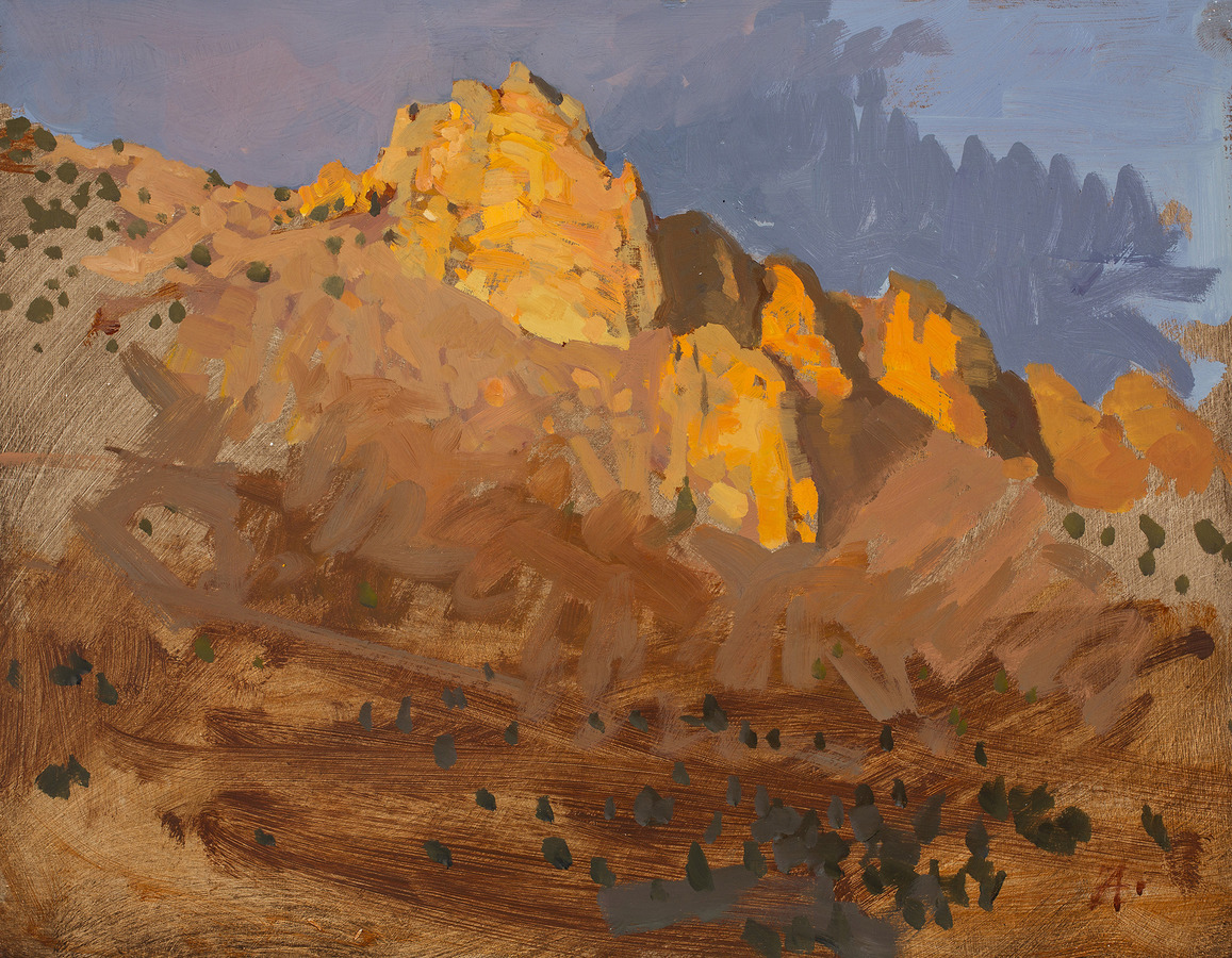Available/Recent Paintings Smith Rock Sunset