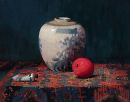 Aimee Erickson Solo Exhibition at Meyer Gallery oil