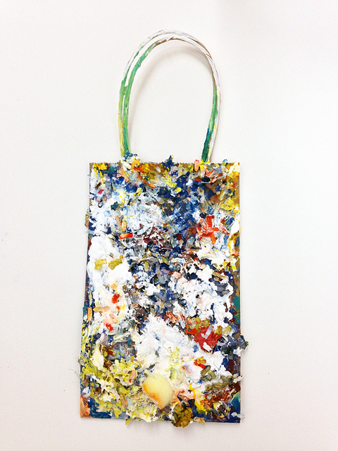 Painting and Mixed Media Little Bag