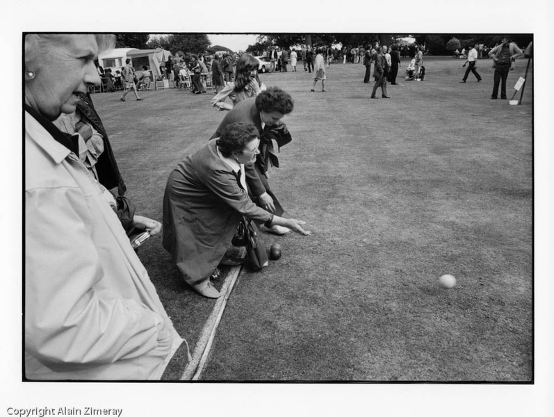 UK 1974 Women playing bowls