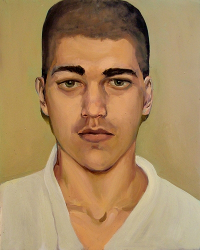 Alexandra Wiesenfeld Man-Made oil on panel