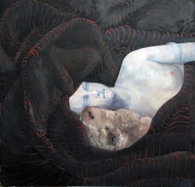 Alexandra Wiesenfeld A Love Uneven oil on canvas