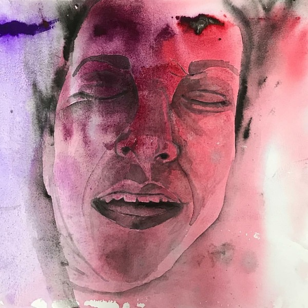 Alexandra Rutsch Brock Ecstasy Series watercolor and gouache on paper