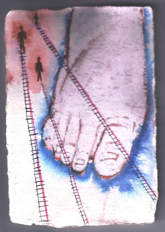 Paintings Foot Ladders
