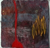 Paintings encaustic on handmade Indian paper