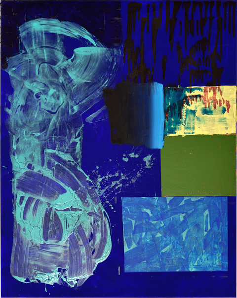 Alexander Kroll Paintings Oil, Flashe, Acrylic and Alcohol-Based Ink on Linen