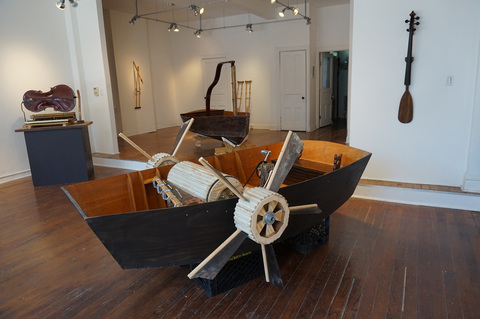 Alex Branch Music Box Boat For the Mississippi