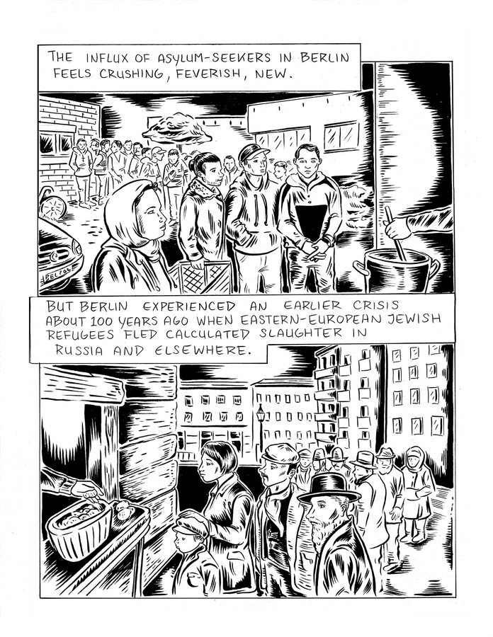 Ali Fitzgerald Drawn to Berlin Graphic Nonfiction