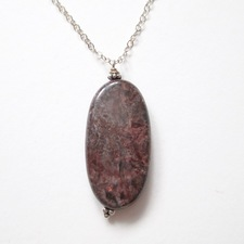 ALI HERRMANN Stone Necklaces and Bracelets bird's eye rhyolite