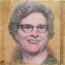 ALI HERRMANN Women Icon Project encaustic photo collage