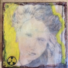 ALI HERRMANN Women Icon Project encaustic collage