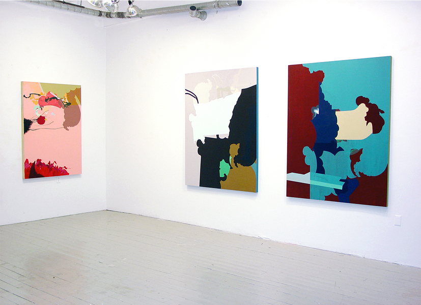 paintings / drawings my exquisite corpse (installation view)