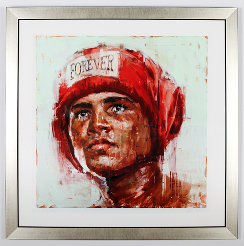 Auction Works to Date 2017 JOSEPH ADOLPHE: Ali Forever
